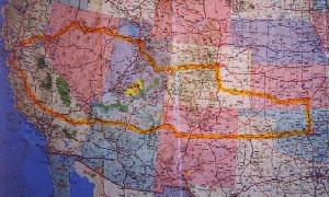 Map Of Texas New Mexico And Colorado.Nevada Utah Colorado Kansas Oklahoma Texas New Mexico Arizona